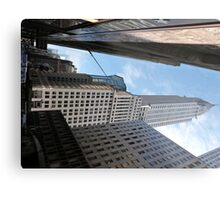 Chrysler Building, New York. Metal Print
