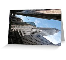 Chrysler Building, New York. Greeting Card