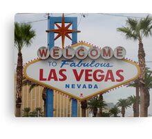 Las Vegas, USA Metal Print
