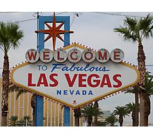 Las Vegas, USA Photographic Print