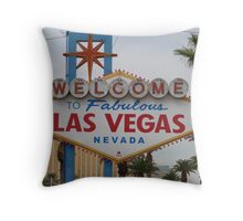 Las Vegas, USA Throw Pillow
