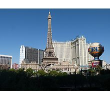 Las Vegas Skyline Photographic Print