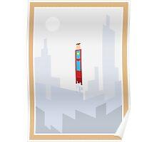 Superman minimal design Poster