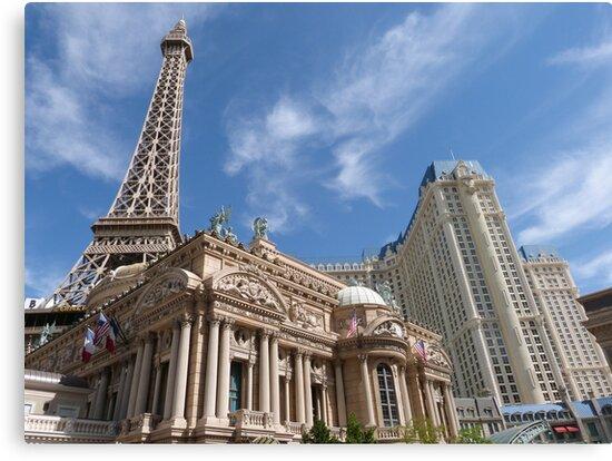 Las Vegas Skyline by FangFeatures