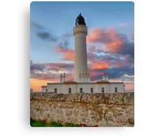 LOSSIEMOUTH - COVESEA SUNSET CLOUDS Canvas Print