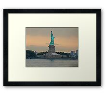 Statue of Liberty, New York Framed Print
