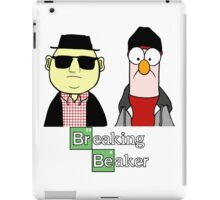 Breaking Beaker and Bunsen iPad Case/Skin