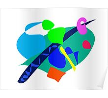 Cool Heart Poster