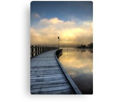 The Cold Light of Day Canvas Print