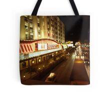 Vegas Street at Night Tote Bag