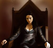 A painting of Morgana by jht888