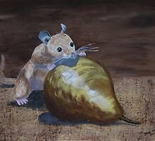 The Dormouse and The Pear by Bob Hardy