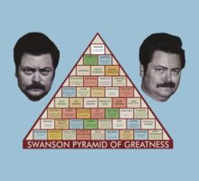 Ron Swanson Pyramid of Greatness - Parks and Recreation by CalumCJL
