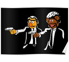 Muppets Pulp Fiction Poster