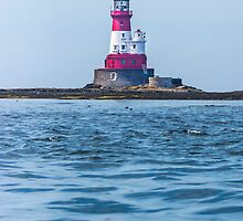 Longstone Lighthouse Northumberland by Roger Hall