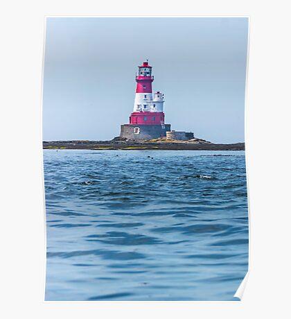 Longstone Lighthouse Northumberland Poster