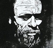 Bukowski by FreudTheAndroid