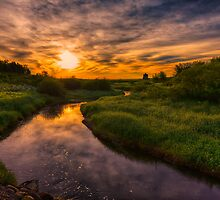 Prairie Sunrise 7515_13 by Ian McGregor