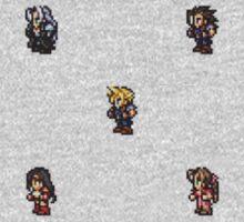 Final Fantasy VII sprites One Piece - Long Sleeve
