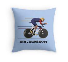 Wiggo Record Breaker Throw Pillow