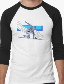 Surfer Men's Baseball ¾ T-Shirt
