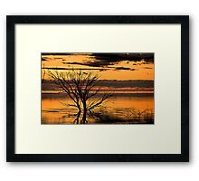 Menindee Orange Framed Print