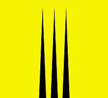 Wolverine (Minimalist Design) by TransmuteMedia
