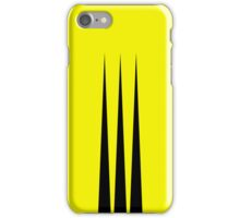 Wolverine (Minimalist Design) iPhone Case/Skin