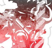 Final Fantasy VI logo grunge Sticker
