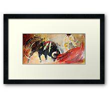 2010 Toro Acrylics 01 Framed Print