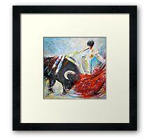 2010 Toro Acrylics 02 Framed Print