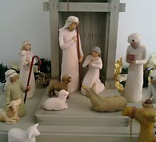 Christmas - Nativity Scene  by Ranjeet Jose