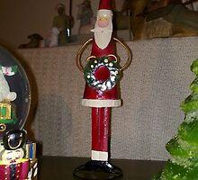 Christmas - Santa Claus Cone by Ranjeet Jose