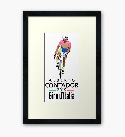 Giro 2015 Framed Print