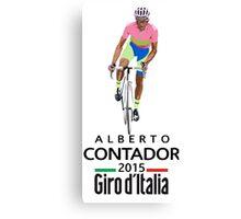 Giro 2015 Canvas Print
