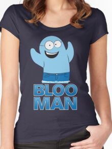 Bloo Man Women's Fitted Scoop T-Shirt