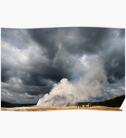 OLd Faithful Explodes Poster
