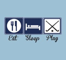 Eat, Sleep, Play - Field Hockey by shakeoutfitters