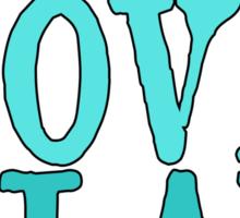 Live, Love, Play - Field Hockey Sticker