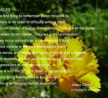 ACIM #1 Miracles by HeklaHekla
