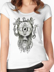 The Eye T-Shirt Women's Fitted Scoop T-Shirt