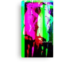Strip Tease Punk Canvas Print