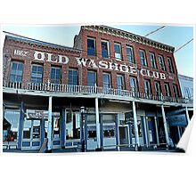 """Old Washoe Club"" Poster"