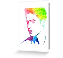 "rainbow ""out"" Greeting Card"