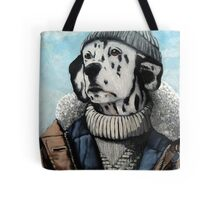 MAN OF THE SEA - Dalmatian dog portrait  Tote Bag