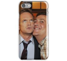 barney and marshall iPhone Case/Skin