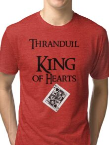 Thranduil King of hearts Tri-blend T-Shirt