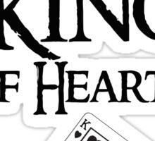Thranduil King of hearts Sticker