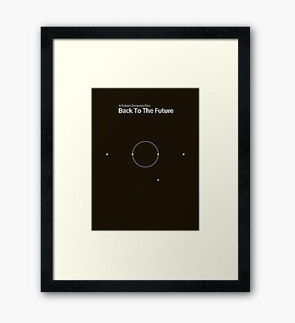 pbbyc - Back to the Future Pt 1 (min) Framed Print