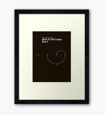 pbbyc - Back to the Future Pt 2 (min) Framed Print